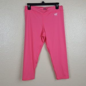 A&F Active Women's Yoga Athletic Pants Size Large
